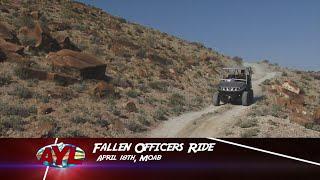 Fallen Peace Officer Ride - Sticker Winner 1328