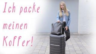 KOFFER PACKEN II Ich packe meinen Koffer für den Sommerurlaub