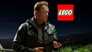 How to make a Lego Terminator (Arnold Schwarzenegger)