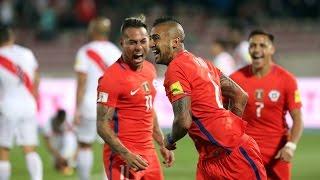 Chile 2 - 1 Perú | Eliminatorias Rusia 2018 | Alberto Jesús López