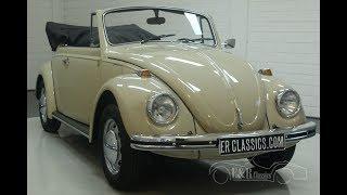 VW Beetle 1500 cabriolet 1970-VIDEO- www.ERclassics.com