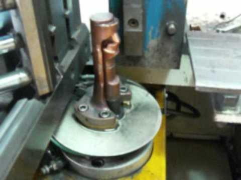 Radiator circumferential seam welding machine
