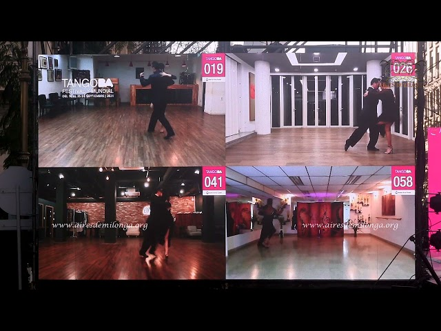 Final Pista, Ronda 2 Mundial de Tango 2021, baile de tango