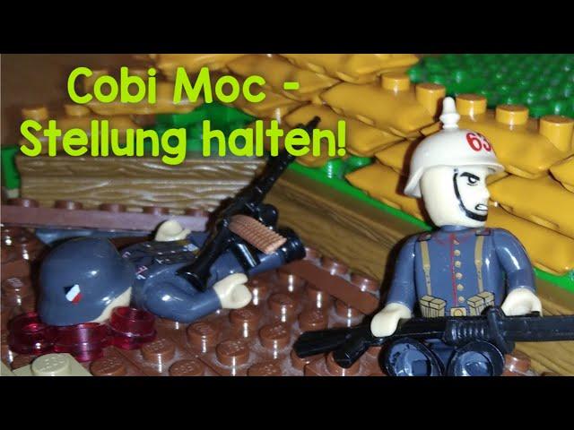 Cobi WW1 Moc - Stellung halten! [German]