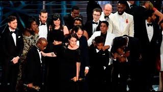 'Moonlight' fue elegida como mejor película tras increíble error