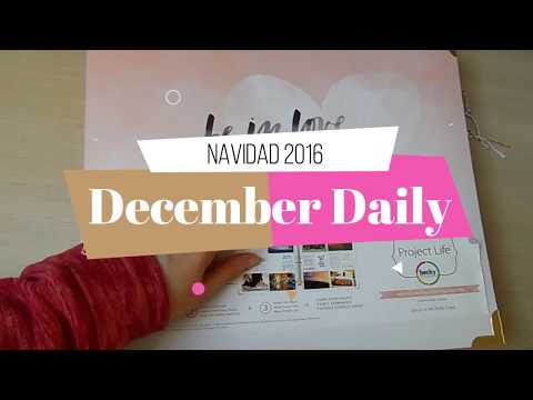 December Daily 2016 | Project Life | Yoltzin Handmade