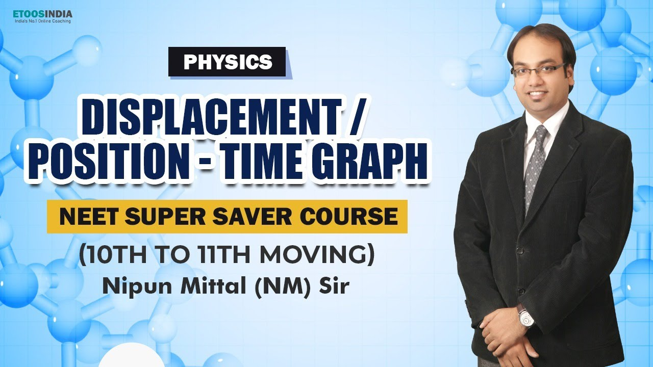 Displacement / Position - Time Graph - Physics 11th | NEET Super Saver Course | Physics by NM Sir