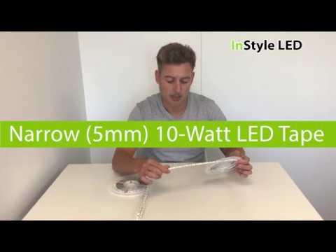 Narrow 5mm LED tape