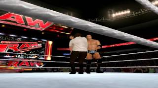 WWE 13 PC Old School Rock Finishers