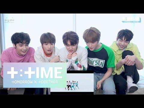 [T:TIME] '어느날 머리에서 뿔이 자랐다 (CROWN)' MV reaction - TXT (투모로우바이투게더)