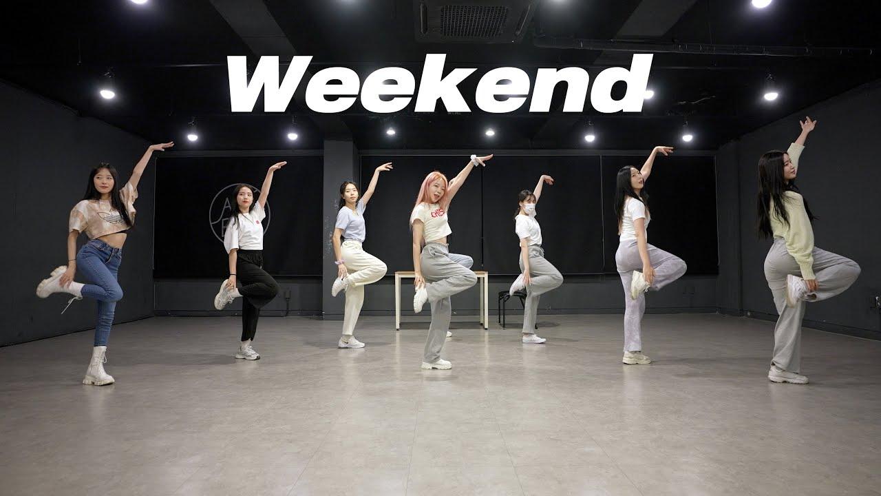 태연 TAEYEON - Weekend | 커버댄스 Dance Cover | 거울모드 Mirror mode | 연습실 Practice ver.