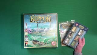 [61-1 Nippon] Знакомимся с игрои Nippon под распаковку и начальную раскладку