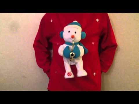 Christmas Jumper Musical Novelty Singing and Dancing