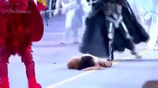 Carnaval de Brasil Satanas derrota a Jesus. Segun ellos, es arte.