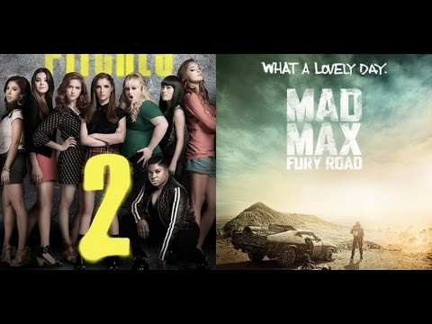 Ajs Movie Reviews Mad Max Fury Road Pitch Perfect  Flights Up