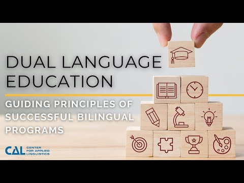 Foundations of Dual Language Education: Principles Of Successful Bilingual Programs