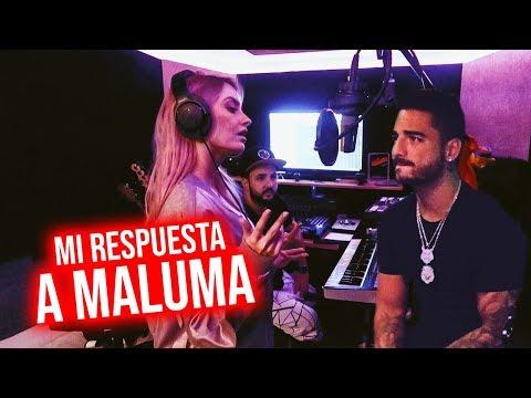 GRABANDO MI RESPUESTA A MARINERO DE MALUMA + VI AL REAL MADRID EN PRIMERA FILA | 09 Ago 2018