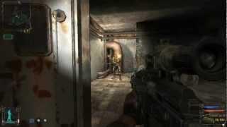 видео S.T.A.L.K.E.R. Тень Чернобыля (Часть 7 - Лаборатория x-18)