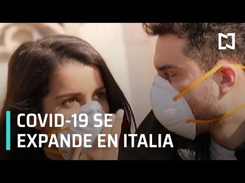 Coronavirus se expande en Italia - Las Noticias con Claudio