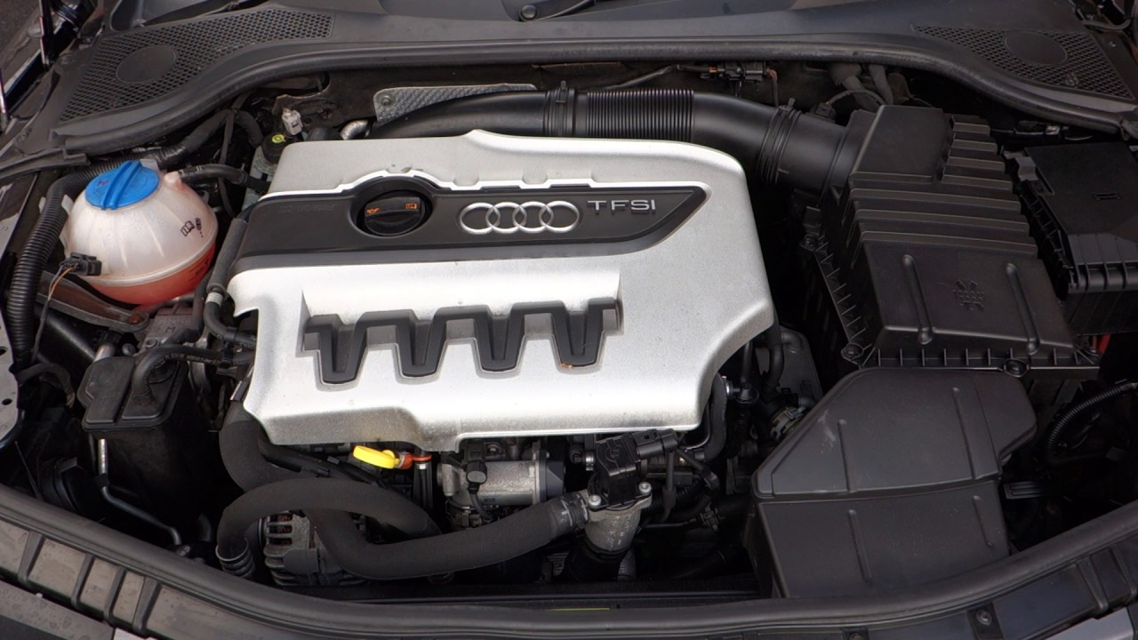 Audi Tts Mk2 20 Tfsi 268hp 2010 Engine Youtube