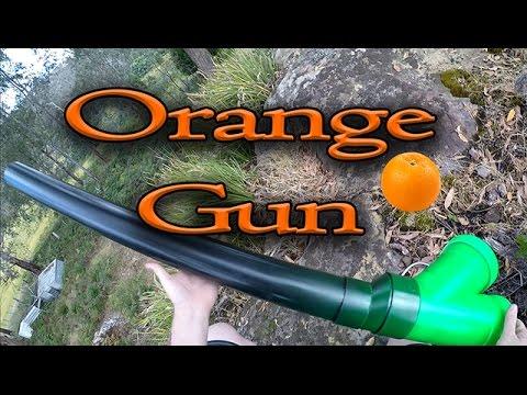 how to make orange gun