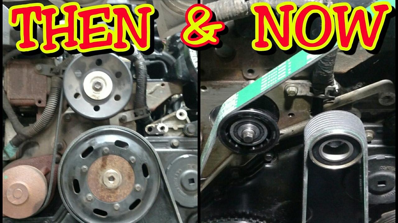 medium resolution of removing cummins fan pulley for fan install