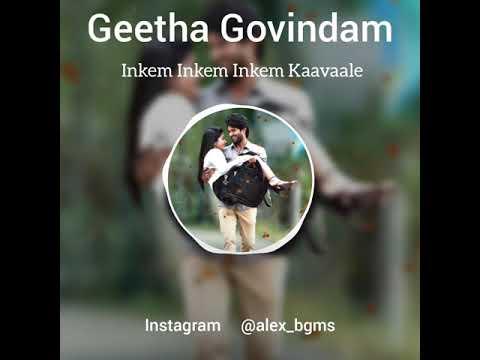 Inkem Inkem Inkem Kaavaale 💕 Geetha Govindam 💞 Vijay Devarakonda 😎 Sid Sriram🎶 Whatsapp Status🎵