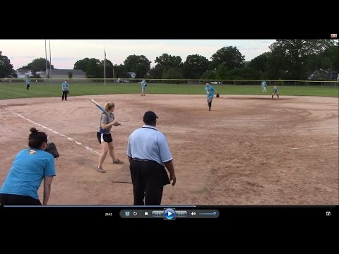 WWE vs NBC Sports - Spring Coed Softball League - Video Highlights - Stamford, CT - May 31, 2016