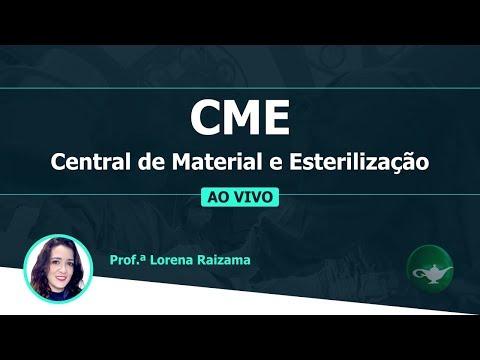 CME - Central de Material e Esterilização | Profª Lorena Raizama | 23/01 às 19h
