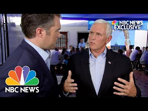 Vice President Mike Pence on Charlottesville: Extremist Voices Will Be Marginalized | NBC News