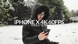 iPHONE X 4K 60fps | Cinematic Video Test