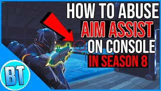 Fortnite Aim Assist GLITCH! (AIM LIKE A PRO IN FORTNITE)