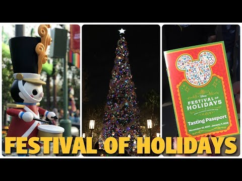 Festival of Holidays Overview | Disney California Adventure