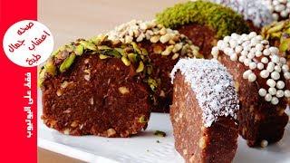 حلى الكيك تحلية باردة سريعة بدون فرن في 5 دقائق بمكونات بسيطة متوفرة في كل بيت حلويات سهلة