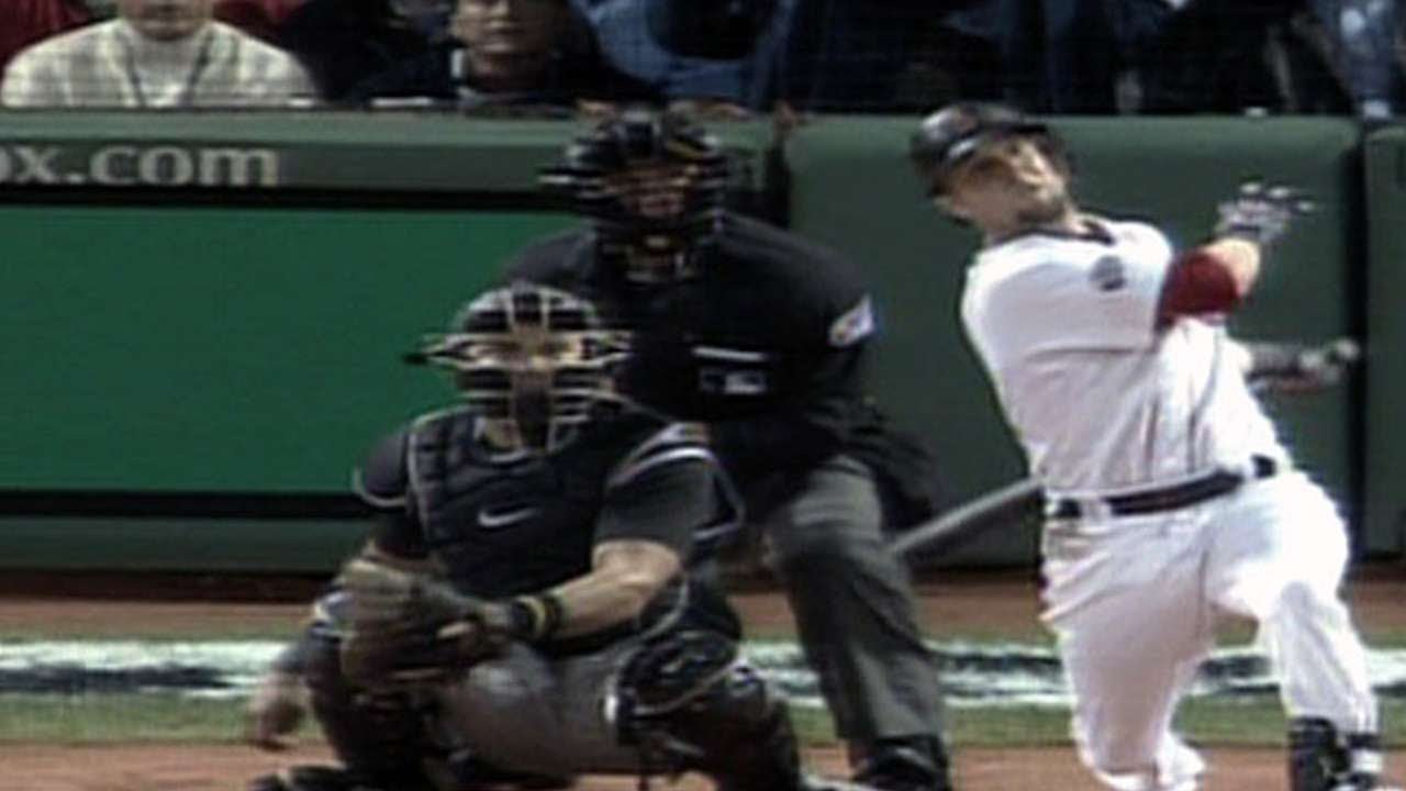 2007 WS Gm1: Dustin Pedroia leads off with homer