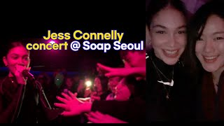 Korean react to Filipino Singer Jess Connelly in Seoul
