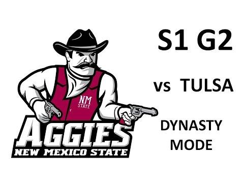 NCAA 06 - NMSU Dyansty - S1 G2 v Tulsa