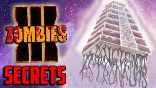BLACK OPS 3 ZOMBIES HIDDEN SECRETS - BO3 ZOMBIES SHADOWS OF EVIL STORYLINE LINK WITH MOON!