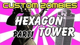 Hexagon Tower (Part1) - CoD World at War Custom Zombies Map/Mod