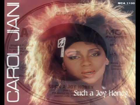 Carol Jiani   Such A Joy Honey 1987
