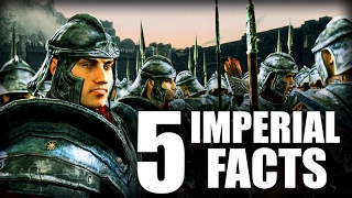 Skyrim - 5 Imperial Facts - Elder Scrolls Lore