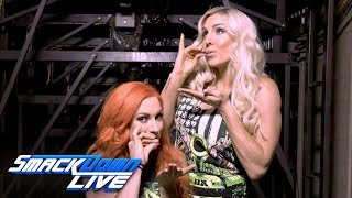 Relive Becky Lynch amp Charlotte Flairs bitter rivalry SmackDown LIVE