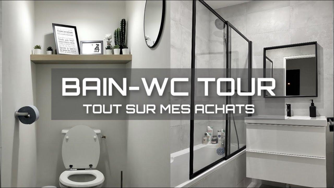Salle De Bain Wc Tour Decoration Organisation En Detail Tout Sur Mes Achats Home Tour Youtube