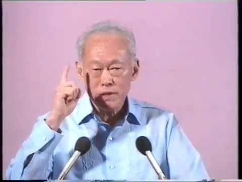 Lee Kuan Yew Last National Day Speech (1990) - Part 11