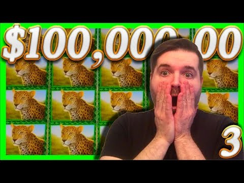 $100,000.00 In Slot Machine Wins! Casino HUGE 1/2 JACKPOT Wins With (3) SDGuy1234