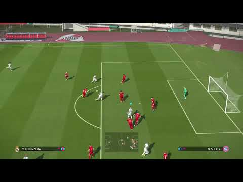 PRO EVOLUTION SOCCER 2018. Training. SuperStar. Real Madrid - Bayern Munich
