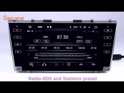 Android 7 1 2007 2011 Toyota Camry Radio Gps Navigation