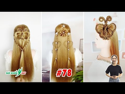 22 Amazing Hairstyles For Party | Beautiful Braids Hairstyles For Long Hair | Hairstyles Wedding #78