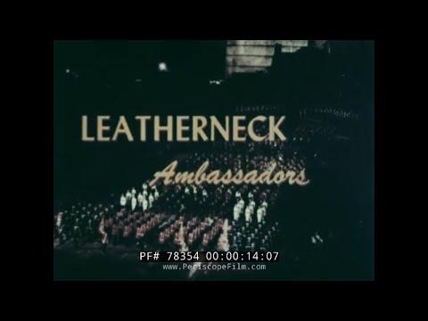 U.S. MARINE CORPS ROYAL EDINBURGH MILITARY TATTOO 1960 SCOTLAND  USMC  78354