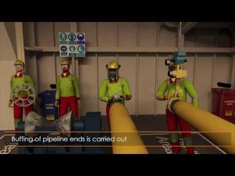 Ceona Amazon Rigid Pipelay Animation